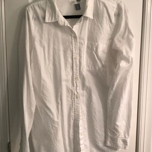 Classic White Button Up